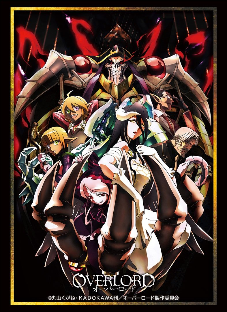 Over Lord Full Cast Albedo Trading Card Game Character Sleeve Collectible Anime Art Vol.1462