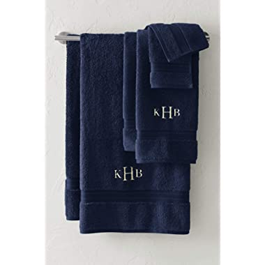 Lands' End Supima Towel 6-Piece Set, Navy