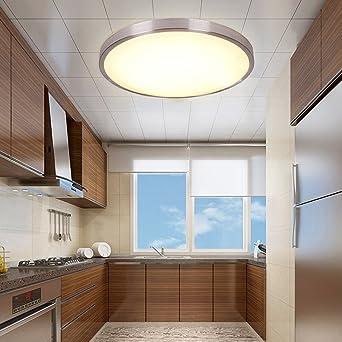 Deckenlampe LED Deckenleuchte weiß Leuchte 15W Wohnzimmer Lampe Flur Küche