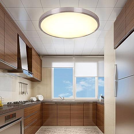 MCTECH® 15W Warmweiß LED Deckenleuchte Modern Deckenlampe Flur Wohnzimmer  Lampe Schlafzimmer (15W Warmweiß)