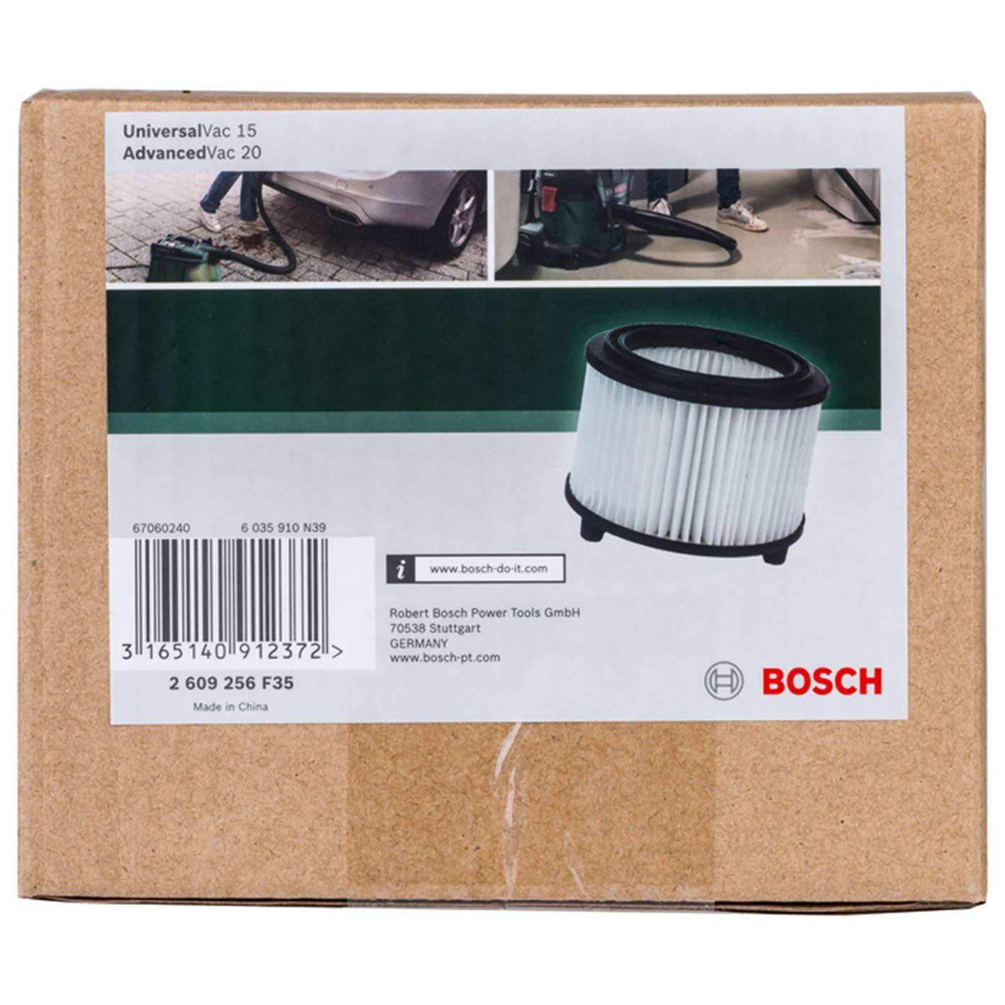 0 W Bosch Home and Garden 2609256F33 Bolsa de Papel para Aspirador 0 V Set de 0 Piezas