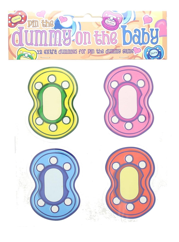Alandra dum-babyBaby Dusche Pin der Schnuller auf das Baby Schnuller Spiel