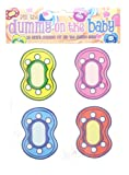 12 Extra Dummies for Pin ( Stick ) the dummy on the baby Game