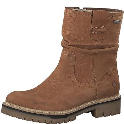 low priced 618cc 2ae28 Tamaris Damen Stiefelette 26475-21,Frauen  Stiefel,Boots,Halbstiefel,Damenstiefelette,Bootie,gefüttert,Winterstiefeletten,Blockabsatz  3.5cm