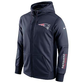 Nike New England Patriots Circuit FZ Hoodie - Sudadera para Hombre, Color Azul, Talla XS: Amazon.es: Deportes y aire libre