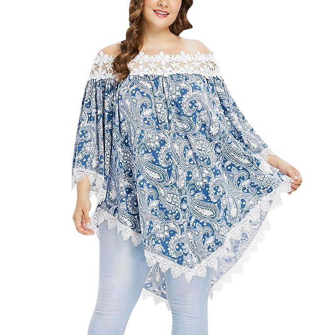 Cocoty-Store 2019 Ropa Camisetas Mujer, Camisas Mujer Verano Elegantes estampadoTallas Grandes Camisetas Mujer Manga Corta Camiseta Blusas Tops para Mujer ...