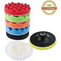 TedGem Kit de esponja de pulido con adaptador