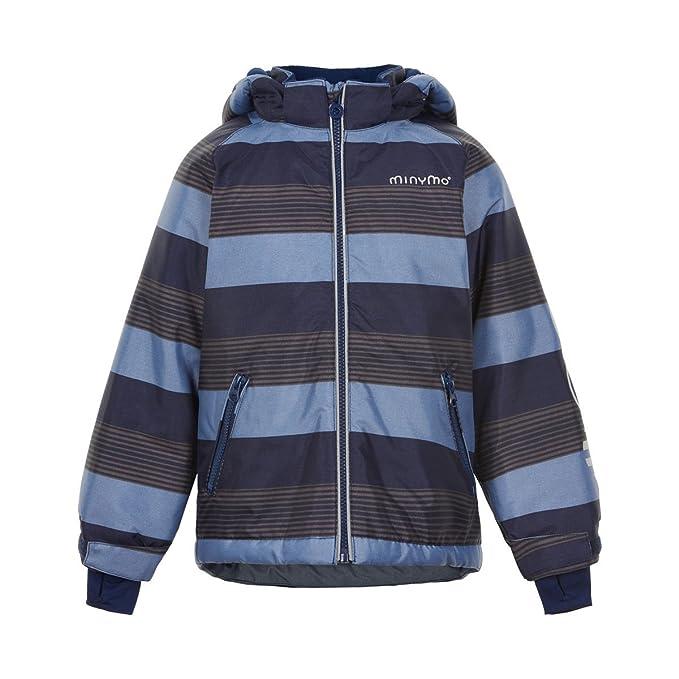 Minymo - Abrigo para la Nieve - Rayas - para niño Pavement 104 cm