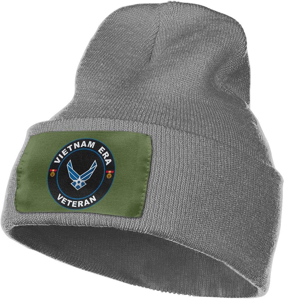 United States Air Force Vietnam Era Veteran Mens Beanie Cap Skull Cap Winter Warm Knitting Hats.