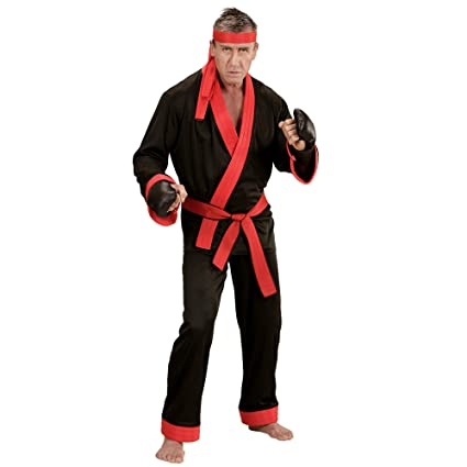 WIDMANN 73994 ? Adultos Disfraz Kick Boxer, Superior, pantalones ...