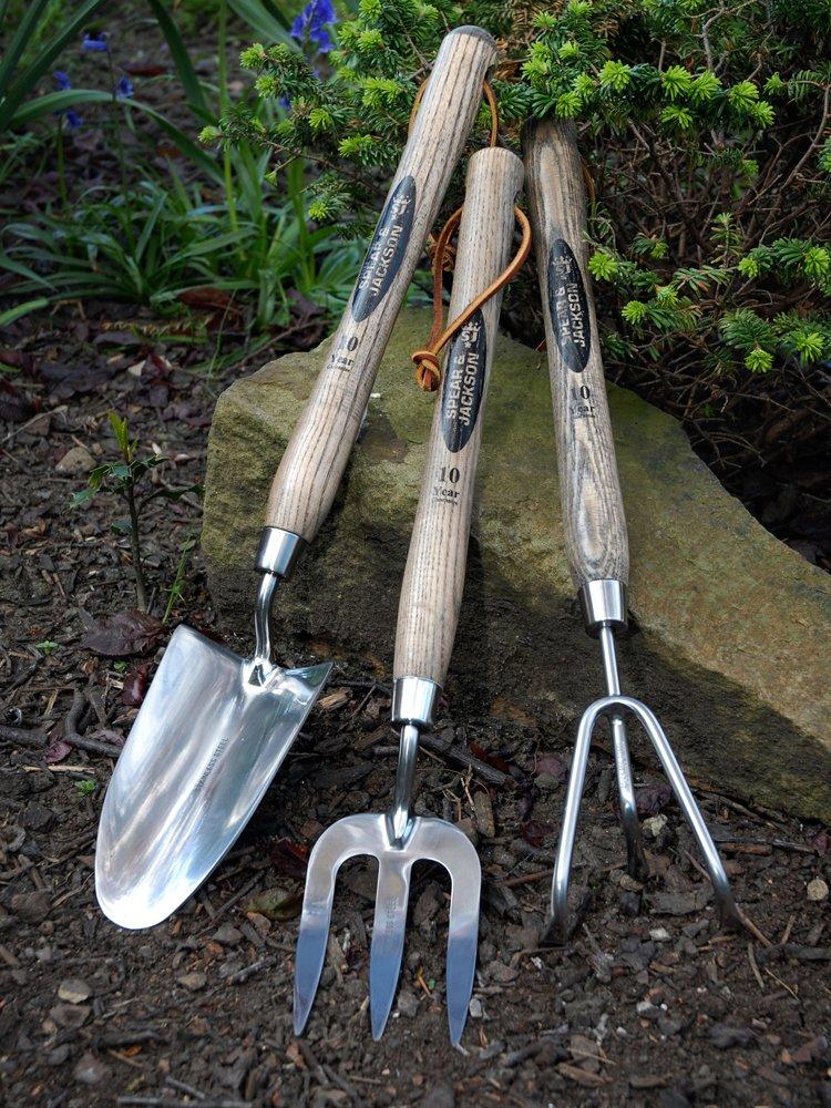 Spear /& Jackson Fourche en acier inoxydable /à long manche 30,4 cm