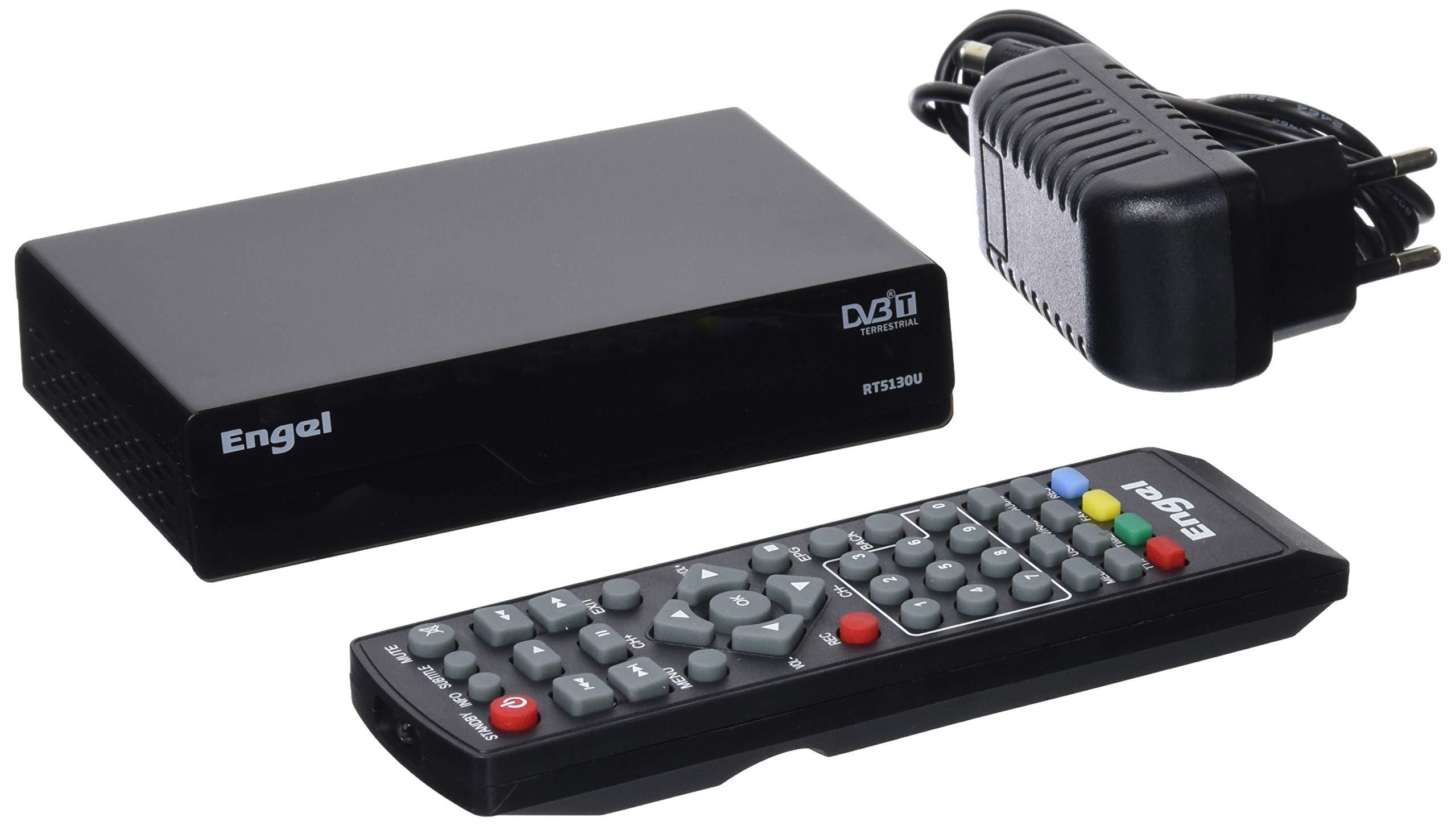 Engel Axil RT5130U - Receptor TDT Televisión Digital Terrestre + USB product image