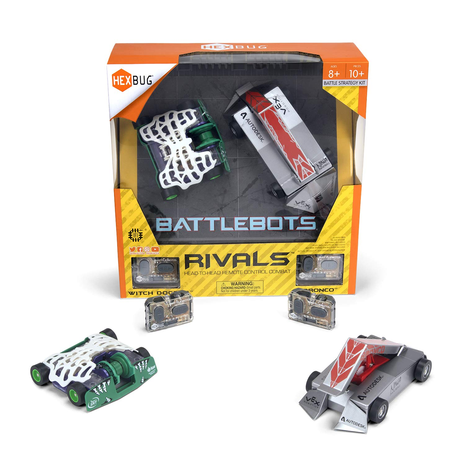 HEXBUG BattleBots Rivals (Bronco and Witch Doctor) by HEXBUG (Image #2)