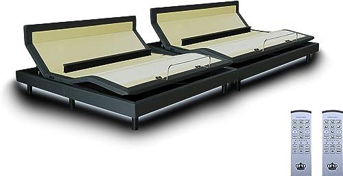 DynastyMattress DM9000s Split King Adjustable Bed Base Frame