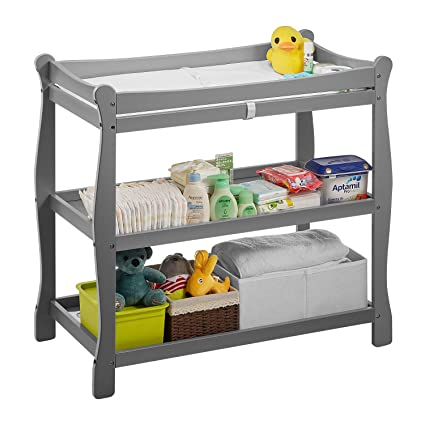 Baby Diaper Changing Table Unit Infant Newborn Nursery Station Dressing Changer Size : Style 1 Style Optional