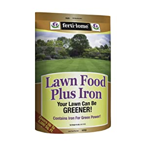 VPG 10760 Lawn Food Plus Iron, 40-Pound