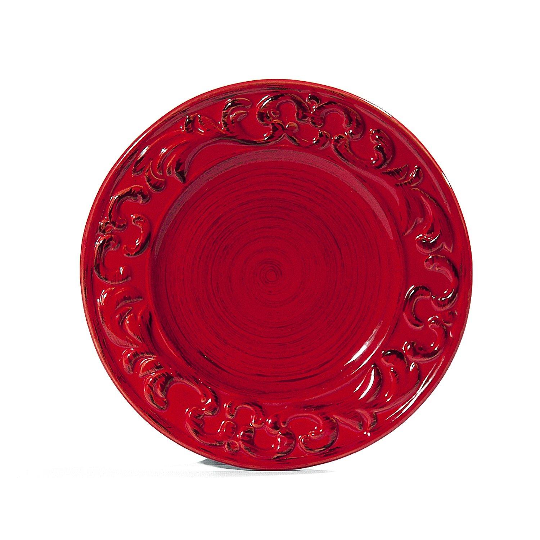 Intrada BAR7431C Baroque Salad Plate, Cream