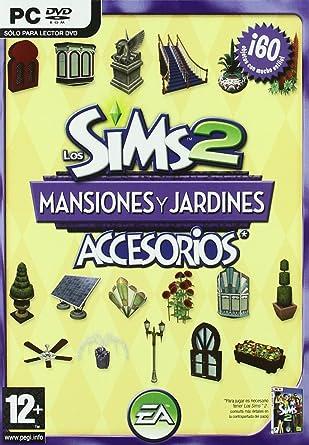Los Sims 2 Mansiones Y Jardines Accesorios Pc Dvd España: Amazon ...