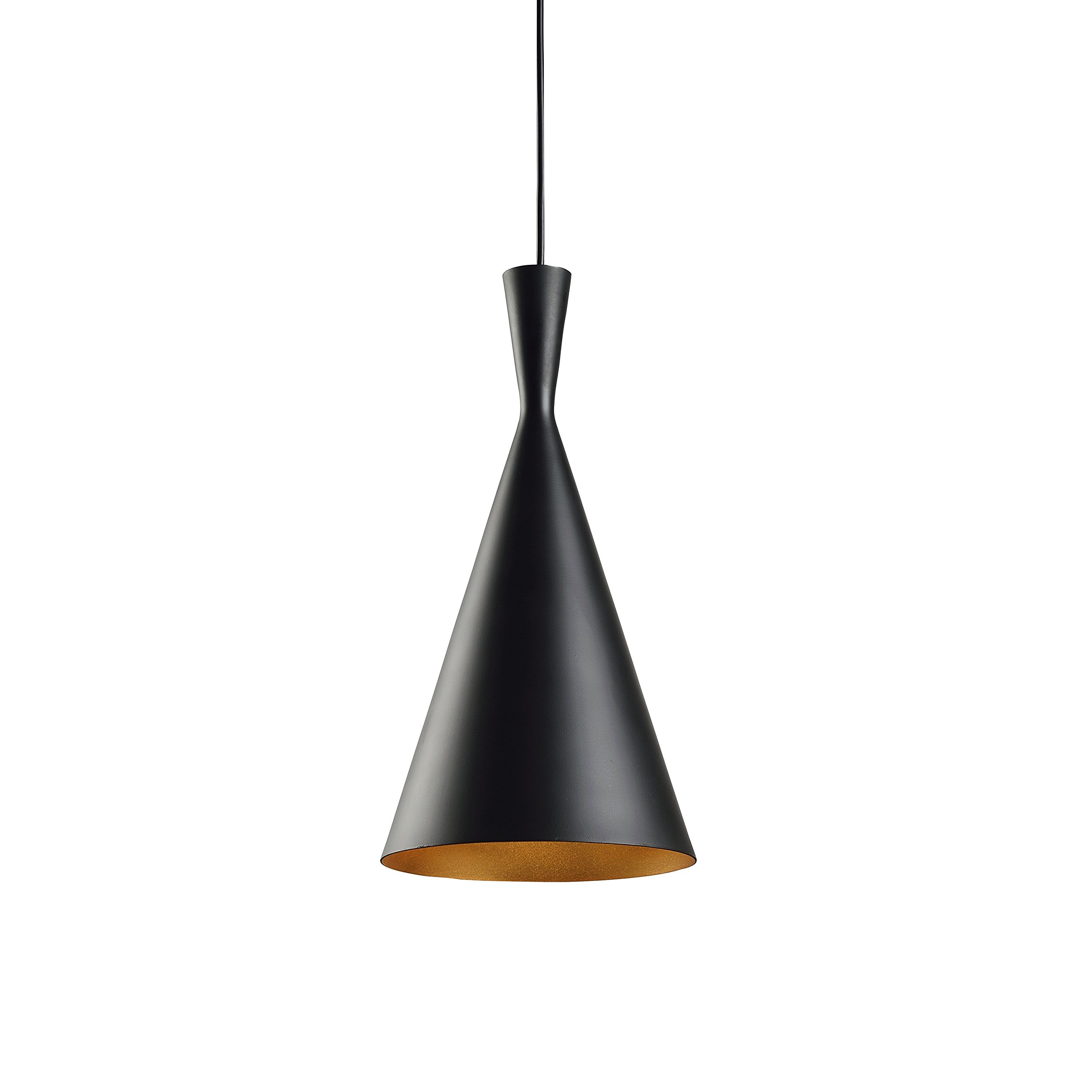 Ceiling Light Kitchen Island Pendant - Black Aluminum Fixture