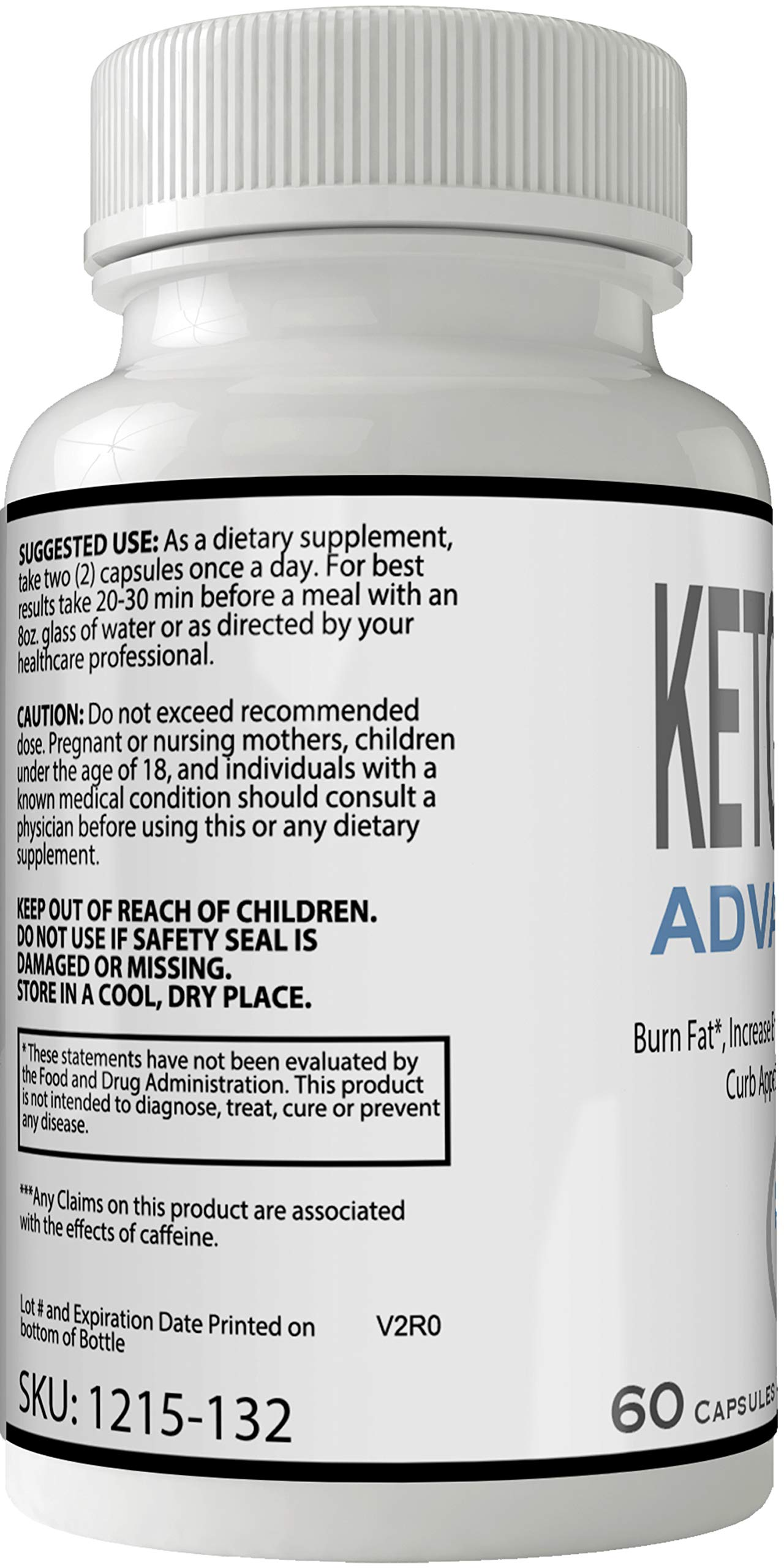 Keto Hack Advanced Capsules Weight Loss Pills Supplement, Appetite Suppressant with Ultra Advance Natural Ketogenic 800 mg Fast Formula with BHB Salts Ketone Diet Boost Metabolism by nutra4health LLC (Image #3)