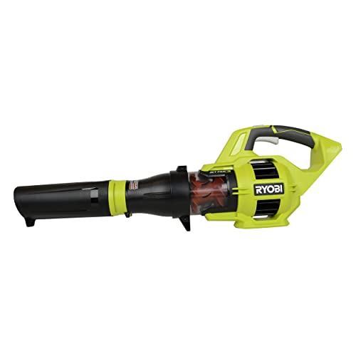 Ryobi RY40403 40V Lithium Ion 110 MPH Jet Fan Blower Bare Tool Only, Battery, Charger Not Included Renewed