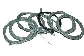 Enfield County Cable Kit de embrague freno acelerador del motor trasero Bajaj tres Wheeler TUK TUK: Amazon.es: Coche y moto