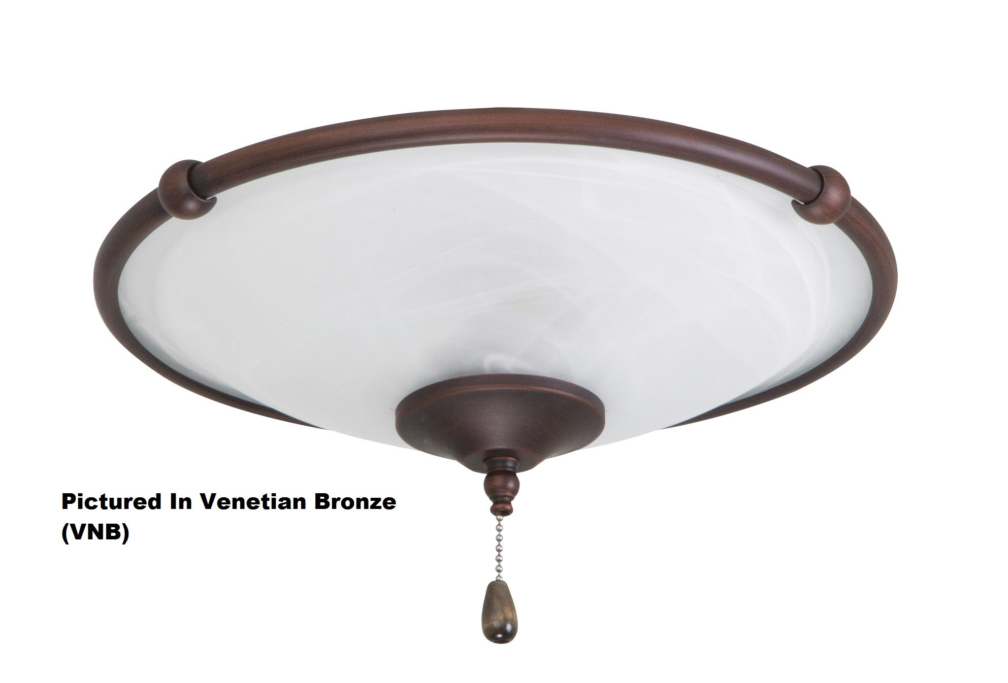Emerson Ceiling Fan Light Fixtures LK53GBZ Low Profile Light Fixture, Gilded Bronze Ceiling Lamp
