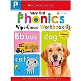 Very First Phonics Pre-K Wipe-Clean Workbook: Scholastic Early Learners (Wipe-Clean)