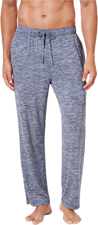 Weatherproof Mens Space-Dyed Pajama Lounge Pants, Blue, X-Large