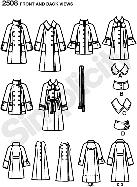 R5 Simplicity Sewing Pattern 2508 Misses Jackets 14-16-18-20-22
