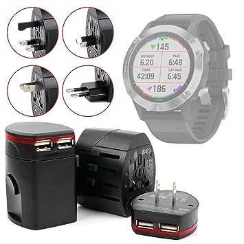 DURAGADGET Estuche Rígido Compatible con Smartwatch Garmin Fenix 6 ...