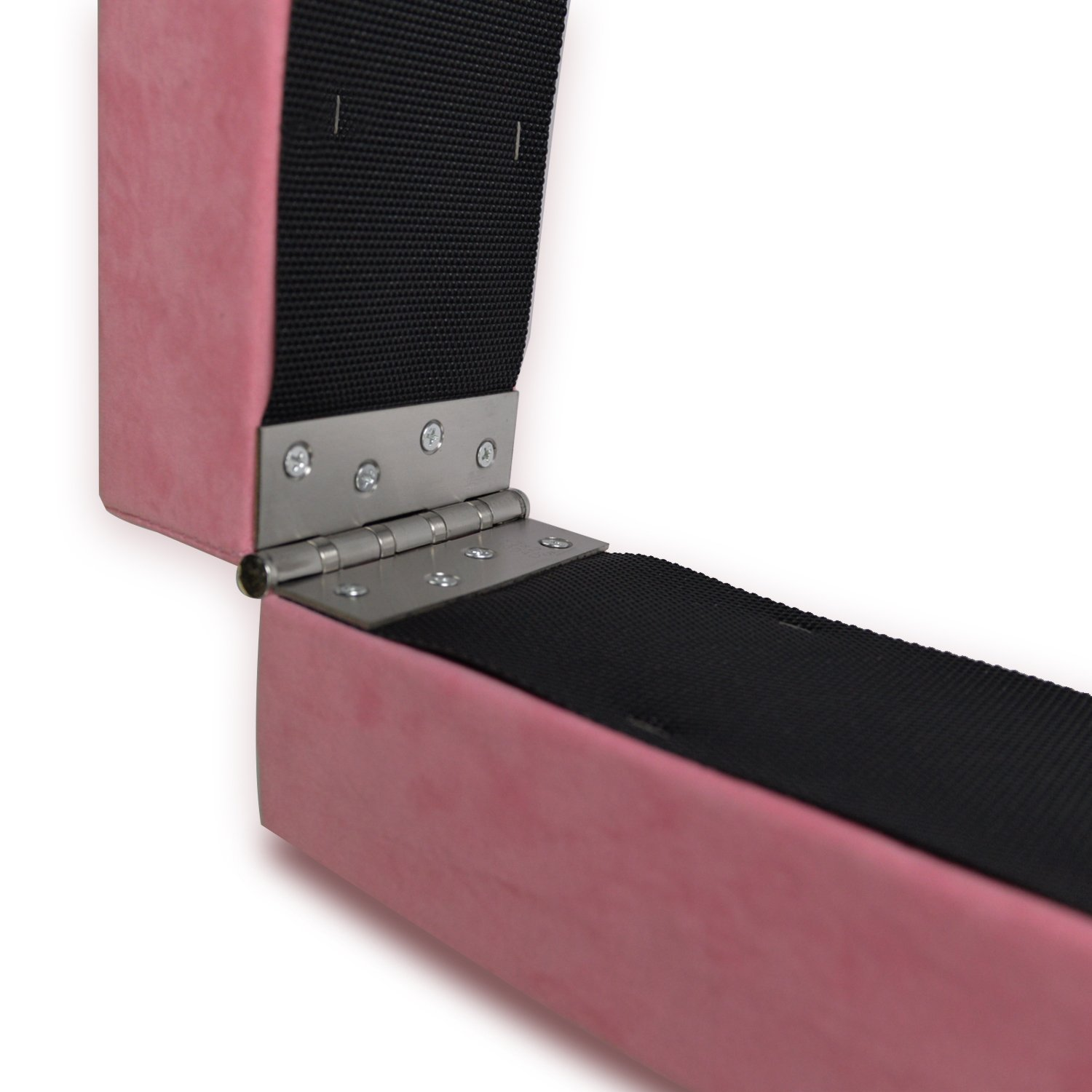 HYD-PARTS Gymnastic 7' Balance Beam and 4'x10' Gym mats (Pink Beam+4 by 10 Pink&Black mat, 7') by HYD-PARTS (Image #4)