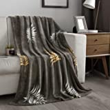 NC Flannel Fleece Blanket, Throw Soft Warm Fluffy PlushBlanket, Lightweight MicrofiberBlanketsfor Bed Couch Chair Living R