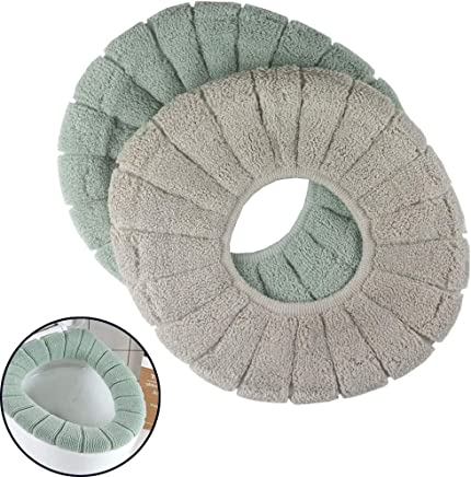 Euone Toilet Seat Cover Clearance Sale 2pcs Cushioned Toilet