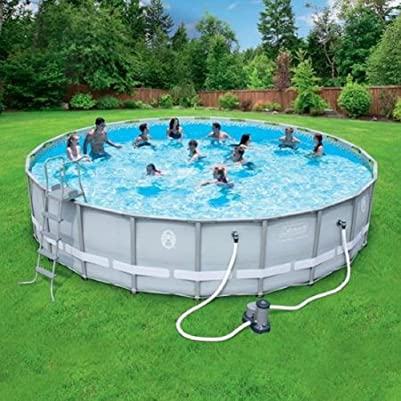 Coleman pools vs intex pools which one should you buy Rectangle vs round pool