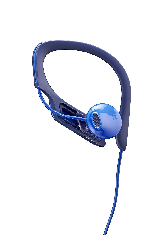 blau Panasonic RP-HS34E-A Clip Sportohrh/örer best/ändiges Material, gr/ö/ßenverstellbarer Clip