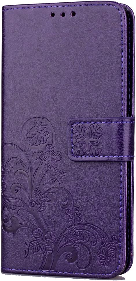 DOSDA080908 Blu Docrax Custodia Huawei Y5 2017//Y6 2017 Portafoglio Cover in Pelle Funzione di Stand Slot per Schede Antiurto Leather Case Cover per Huawei Y6 2017//Nova Young