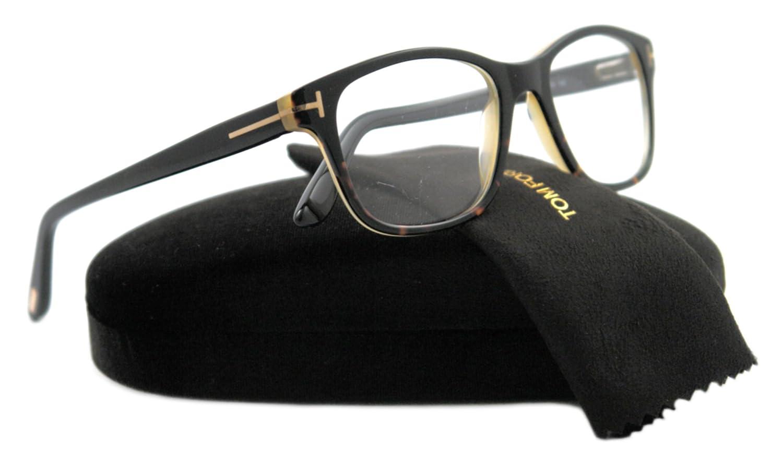 f37c2892e5deb Amazon.com  Tom Ford Eyeglasses TF 5196 BLACK 005 TF5196  Tom Ford  Clothing