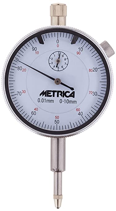 Silverline 196521 Metric Dial Indicator 0-10 mm
