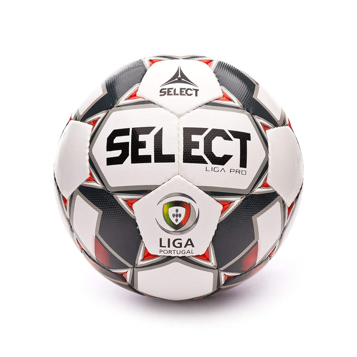 Select Liga Pro 2019-2020, Balón, White-Red-Black, Talla 5: Amazon ...