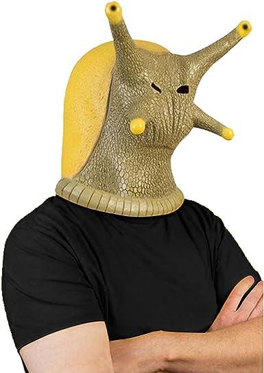 Coser Park Máscara de Cara Completa de Caracol para Disfraz de ...