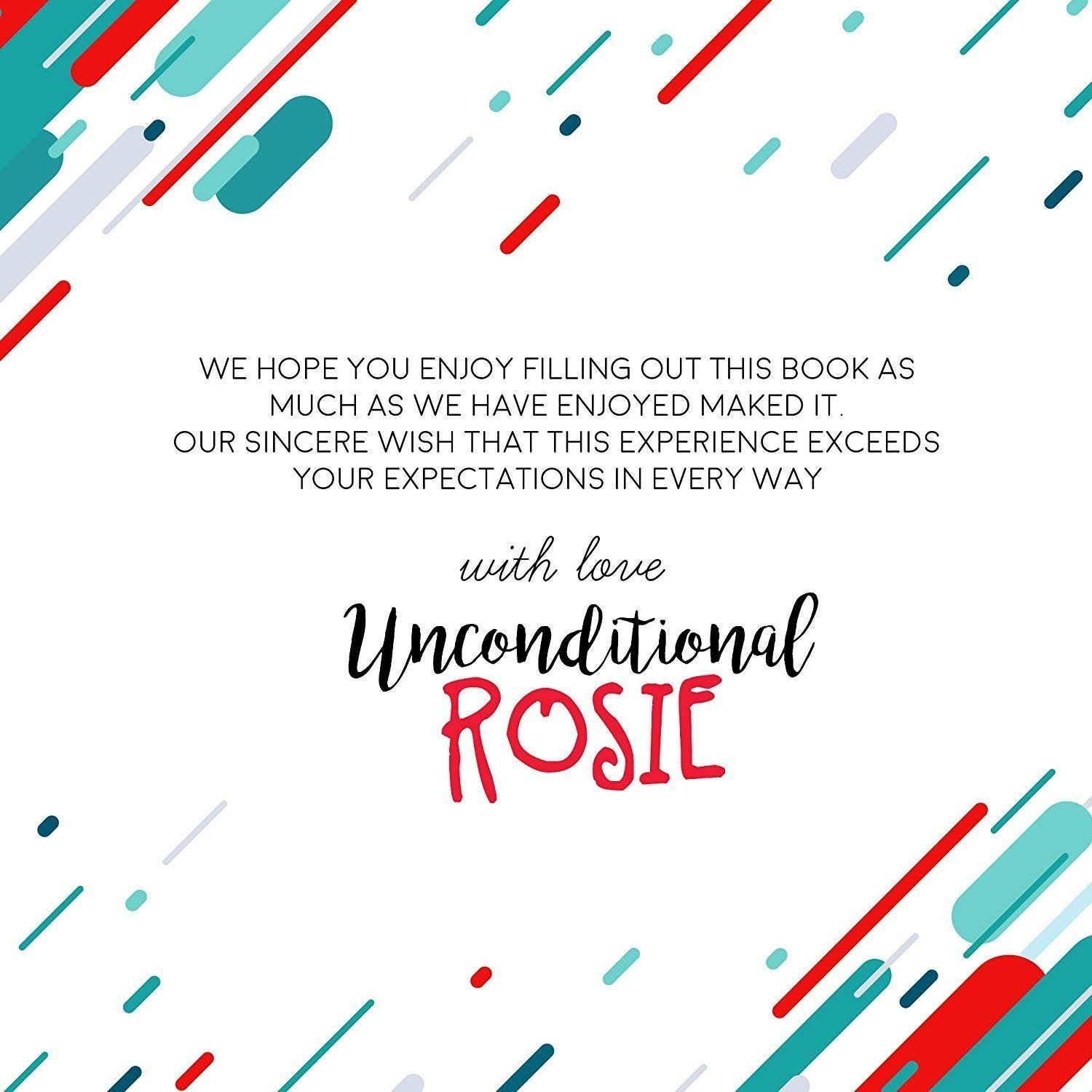 The Ultimate Wedding Planner – A Complete 80 Pages Hardcover Organizer that Includes Checklists, Party Planner, Budget Organizer, Honeymoon and More to Help You Organize The Wedding of Your Dreams! by Unconditional Rosie (Image #8)