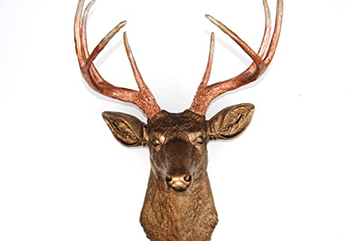 Near and Deer Faux Taxidermy Deer Head Wall Mount