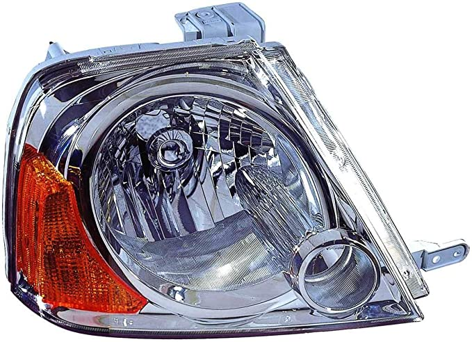 Partslink Number SU2503111 OE Replacement Subaru Forester Passenger Side Headlight Assembly Composite Unknown