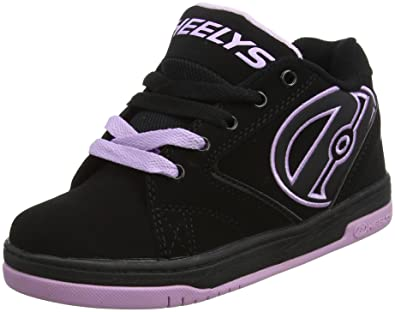 Heelys Boy's Propel 2.0 (Little Kid/Big Kid/Adult) Black/Reggae