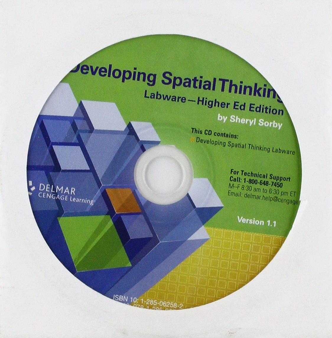 Workbooks developing spatial thinking workbook : Developing Spatial Thinking Labware on CD, Higher Education ...