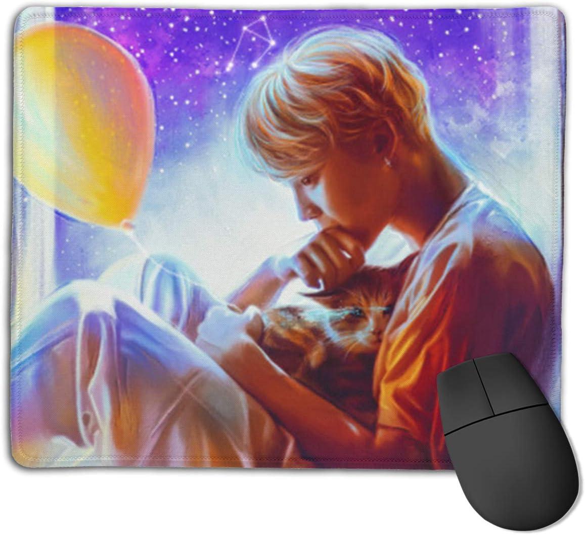 Jimin Serendipity Locking Mouse Pad Anti-Slip Soft Gaming Rubber Mousepads