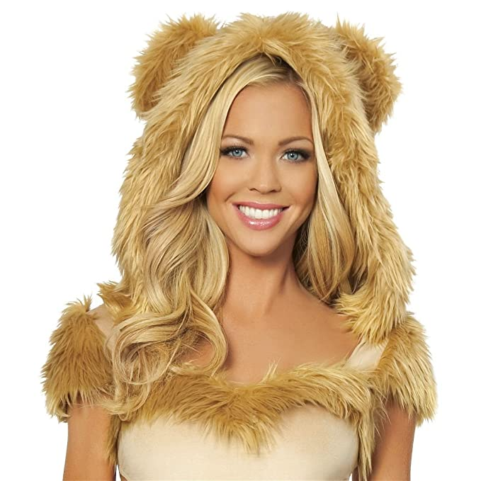 91a0009c0 GSG Lion Costume Adult Sexy Lioness Halloween Fancy Dress: Amazon.ca:  Clothing & Accessories