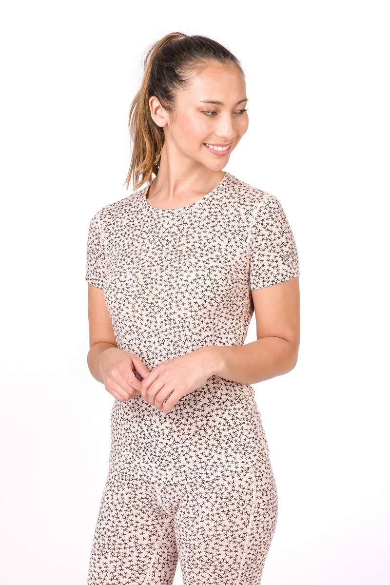 Super.natural Damen W Base 140 Printed Merino T-Shirt