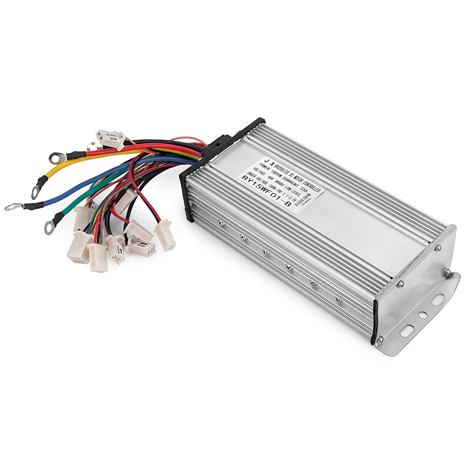 Mophorn 1800w Electric Brushless Dc Motor Kit 48v High Electrical Control Wiring Speed With 32a Controller And Throttle Grip For Go Karts E Bike